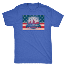 We Are All Immigrants - US Flag Pro Immigration Tee for Men - Short Sleeve Ultra Comfort Guy's Shirt - Island Dog T-Shirt Company