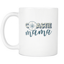 Coastie Mama Coffee Mug - 11 ounce Tea Cup - Hot Chocolate Mug - Island Dog T-Shirt Company