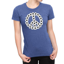 Flower Child Peace Symbol Ultra Comfort Tee - Hippie Shirt for Women - Hipster Tshirt for Her - Island Dog T-Shirt Company
