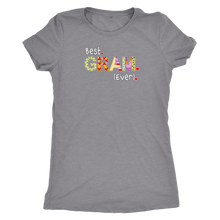 Best Gram Ever - Women's Ultra Soft Comfort Short Sleeve Tee - Gift for Your Grandmother - Island Dog T-Shirt Company
