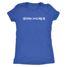 Keep Smiling a Good Vibes Only Ladies' Short Sleeve Tee - Island Dog T-Shirt Company