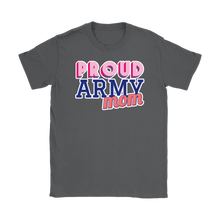 Proud Army Mom Tee - Mother of a Soldier Ladies' T-Shirt - Island Dog T-Shirt Company
