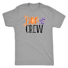 Boo Crew - Spooky Halloween Ghost Ultra ComfortTee for Men - Island Dog T-Shirt Company