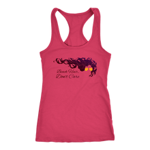 Beach Hair Don't Care Ladies' Racerback Beach Summer Workout & Vacation Tee - Island Dog T-Shirt Company