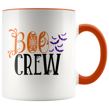 Boo Crew Funny Halloween Ghost Coffee Mug with Vampire Bats - Island Dog T-Shirt Company