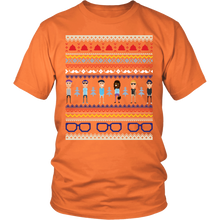 Ugly Christmas Shirt- Hipster Holiday Party Unisex Tee - Island Dog T-Shirt Company