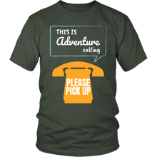 This Is Adventure Calling - Island Dog T-Shirt Company
