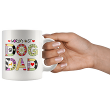 Worlds Best Dog Dad Mug - Fur Baby Daddy Coffee Mug for Men - Best Dog Father Ever - Island Dog T-Shirt Company