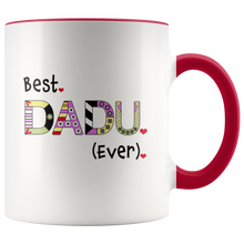 Best Dadu Ever - World's Best Grandpa Coffee Mug - 2 Tone Coffee Mug for Grandfather - Island Dog T-Shirt Company
