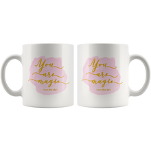 Badass Coffee Mug for Women - You Are Magic Own that Shit - Island Dog T-Shirt Company