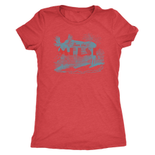 Save the Meese - Women's Ultra Soft Comfort Short Sleeve Tee - Moose T-shirt for Her - Island Dog T-Shirt Company
