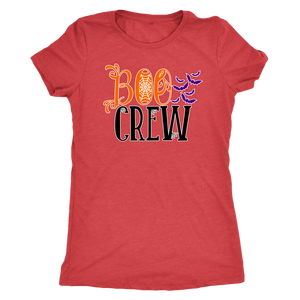 Boo Crew - Spooky Halloween Ghost Ultra Soft Tee for Women - Island Dog T-Shirt Company