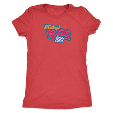 Feeling Groovy Since 1961 - Ladies' Birthday Year Shirt for Women - Anniversary Ultra Soft Tee - Island Dog T-Shirt Company