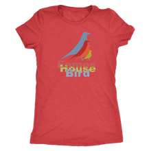 Eames House Bird - Ladies' Retro Shirt - Vintage Tee for Her - Women's Ultra Soft Comfort Short Sleeve Tee - Island Dog T-Shirt Company