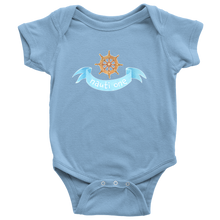 Nautical Baby Clothes Bodysuits for Boys Girls Newborn to 24 Months - Nauti One - Island Dog T-Shirt Company