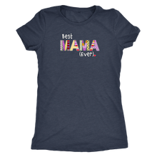 Best Mama Ever - Women's Ultra Soft Comfort Short Sleeve Tee - Gift for Mom - Island Dog T-Shirt Company