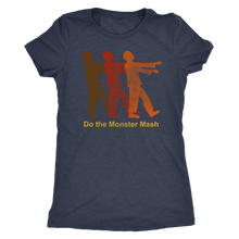 Do the Monster Mash - Zombie Halloween Ultra Comfort Women's Vintage Tee - Island Dog T-Shirt Company