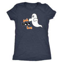 Fah Boo Lous Ladies' Halloween Ghost Tee - Ultra Soft Comfort Tshirt for Her - Island Dog T-Shirt Company