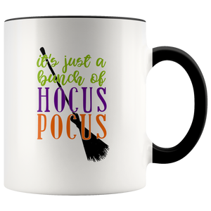 It's Just a Bunch of Hocus Pocus - Halloween Witch Ceramic Coffee Mug - Island Dog T-Shirt Company