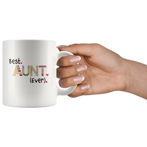 Presents for Aunt - Best Aunt Ever Coffee Mug for Auntie - Island Dog T-Shirt Company