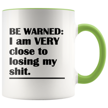 Losing My Sh*t Warning - Funny Coffee Cup - Mature Coffee Cup - Funny Mugs for Her - Boss Mug - Island Dog T-Shirt Company