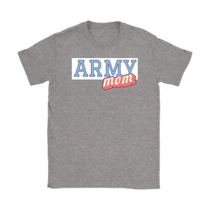 Army Mom Tee - Proud Mom of a Soldier T-Shirt - Island Dog T-Shirt Company