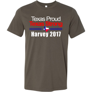 Harvey Survivor T Shirt - Texas Proud & Strong Hurricane Harvey 2017 - Island Dog T-Shirt Company