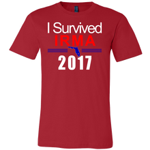I Survived Hurricane Irma 2017 T-Shirt  Commemorative Florida Tee - Island Dog T-Shirt Company