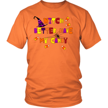 Witch Better Have My Candy Funny Halloween Tshirt for Men & Women - Island Dog T-Shirt Company