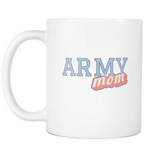 Army Mom 11 ounce Coffee Mug - Tea Mug - Hot Chocolate Cup - Island Dog T-Shirt Company