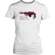 Beach Hair Don't Care - Women's Beach, Ocean & Lake Apparel - Summer Tee - Island Dog T-Shirt Company