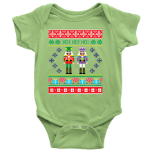 Baby's First Ugly Christmas Shirt - Nutcracker Holiday Onesie - Island Dog T-Shirt Company