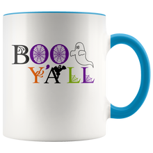 Boo Y'All - Southern Charm Funny Halloween Ghost Coffee Mug - Island Dog T-Shirt Company