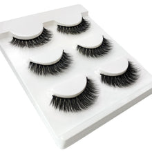 Bad Bones Java Eyelash Extension False Eyelash Extension 3 Pack