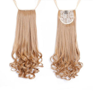 Bad Bones Java Hair Accessories #1 Full Curly Synthetic Hair Extensions
