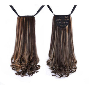 Bad Bones Java Hair Accessories #3 Full Curly Synthetic Hair Extensions