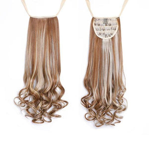 Bad Bones Java Hair Accessories #6 Full Curly Synthetic Hair Extensions