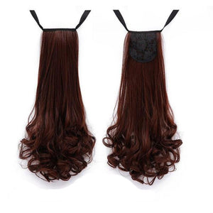 Bad Bones Java Hair Accessories #8 Full Curly Synthetic Hair Extensions