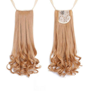 Bad Bones Java Hair Accessories #9 Full Curly Synthetic Hair Extensions