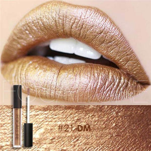 Bad Bones Java Makeup 21 Chic Waterproof Matte Lip Gloss