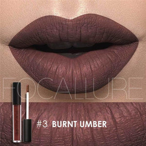 Bad Bones Java Makeup 3 Chic Waterproof Matte Lip Gloss