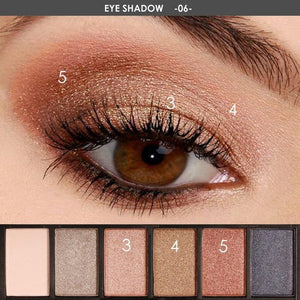 Bad Bones Java Makeup 6 Smokey Eyeshadow 6 Colour Makeup Kit