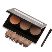 Bad Bones Java Makeup Eyebrow Powder 6 Colour Makeup Kit