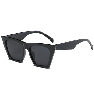 Bad Bones Java Sunglasses Black Classic Vintage Sunglasses