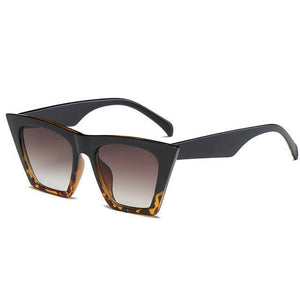 Bad Bones Java Sunglasses Black Leopard Classic Vintage Sunglasses