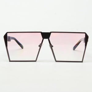 Bad Bones Java Sunglasses Black Light Pink Premium Aviator Sunglasses