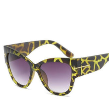 Bad Bones Java Sunglasses Green Leopard Premium Designer Sunglasses