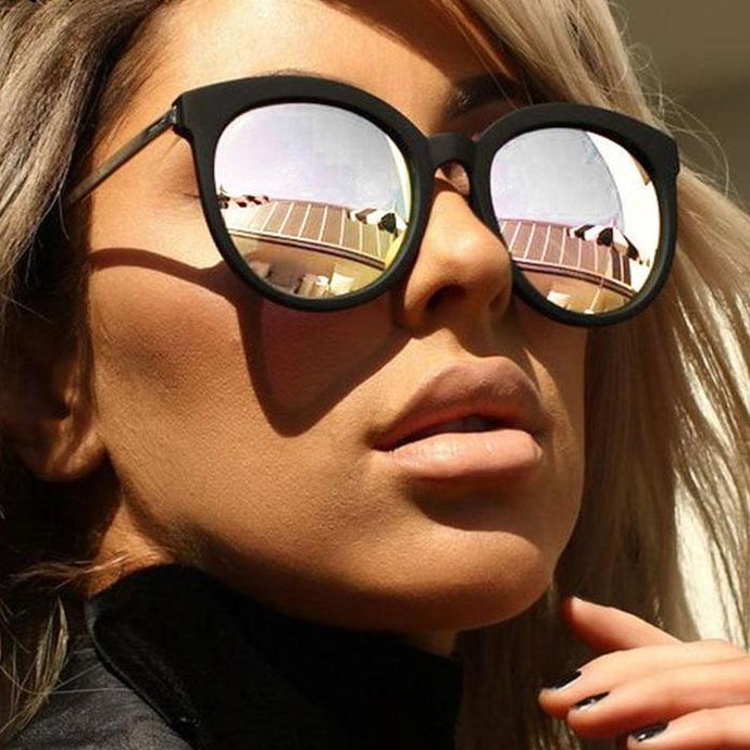 Bad Bones Java Sunglasses Retro Mirrored Sunglasses