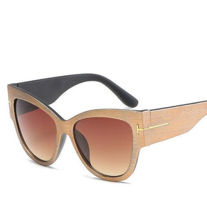 Bad Bones Java Sunglasses Tree Brown Premium Designer Sunglasses