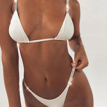 Bad Bones Java Swimwear Slim Sparkling Bikini Swimsuit